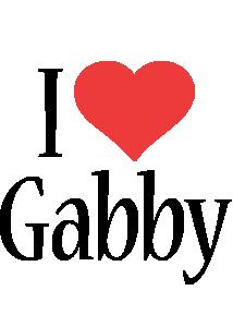 gabby logo name logo generator i love love heart