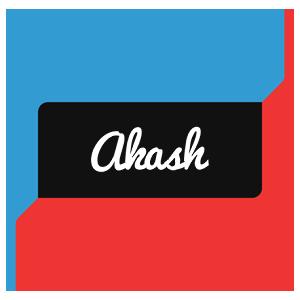 Akash logo create custom akash logo sharks style for Name style design
