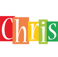 The Name Chris In Bubble Letters
