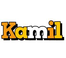 kamil logo create custom kamil logo cartoon style