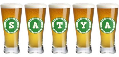 Satya logo design