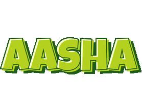 Aasha summer logo