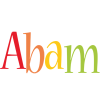 Abam birthday logo