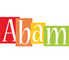 Abam colors logo