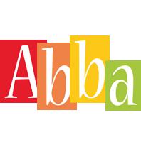 Abba colors logo