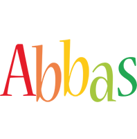 Abbas birthday logo