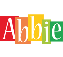 Abbie colors logo