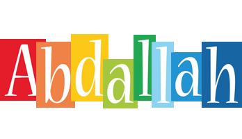 Abdallah colors logo