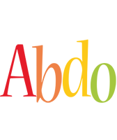 Abdo birthday logo