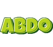 Abdo summer logo