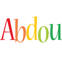 Abdou birthday logo