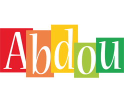 Abdou colors logo