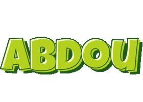 Abdou summer logo