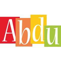 Abdu colors logo