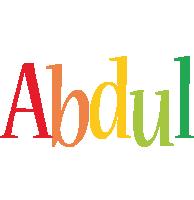 Abdul birthday logo