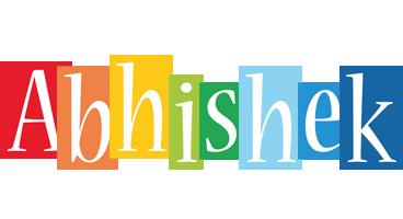 Abhishek colors logo