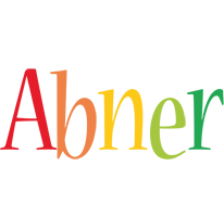 Abner birthday logo