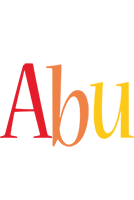 Abu birthday logo