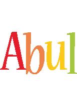 Abul birthday logo