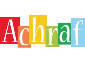 Achraf colors logo