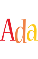 Ada birthday logo