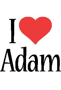 Adam Logo   Name Logo Generator - Kiddo, I Love, Colors Style