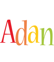 Adan birthday logo