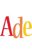 Ade birthday logo