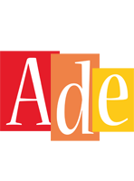 Ade colors logo
