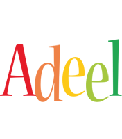Adeel birthday logo