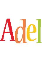 Adel birthday logo