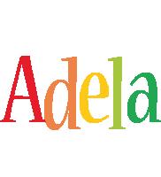 Adela birthday logo