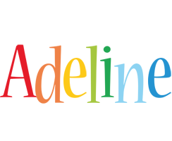 Adeline birthday logo