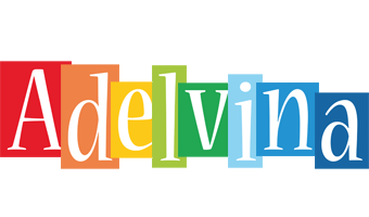Adelvina colors logo