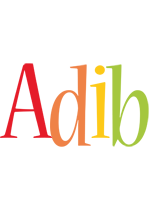 Adib birthday logo