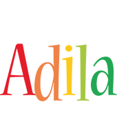 Adila birthday logo