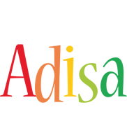 Adisa birthday logo