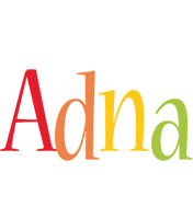 Adna birthday logo