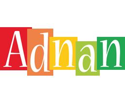 Adnan colors logo