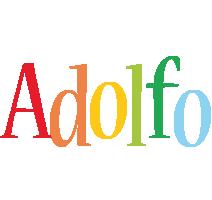 Adolfo birthday logo