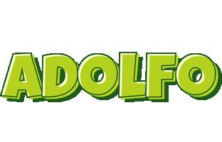 Adolfo summer logo