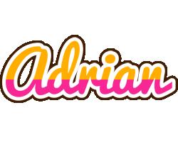 Adrian smoothie logo