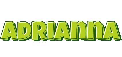 Adrianna summer logo