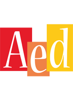 Aed colors logo