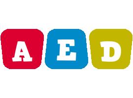 Aed kiddo logo