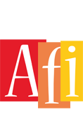 Afi colors logo