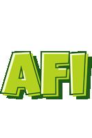Afi summer logo