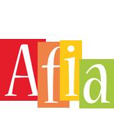 Afia colors logo