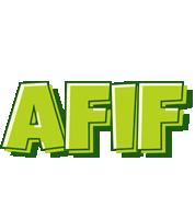 Afif summer logo