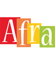 Afra colors logo